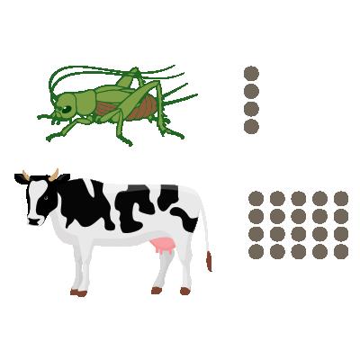 crickets produce less methane